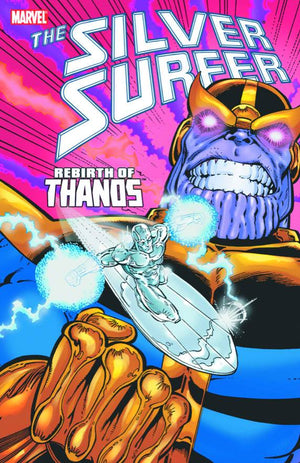 SILVER SURFER REBIRTH OF THANOS TP