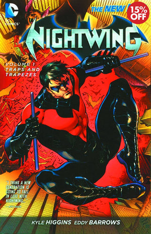 NIGHTWING TP VOL 01 TRAPS AND TRAPEZES (N52)