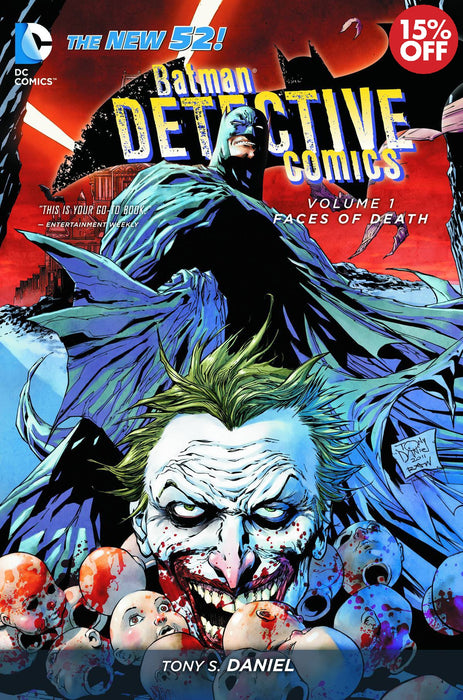 Batman Detective Comics Vol 01 Faces of Death