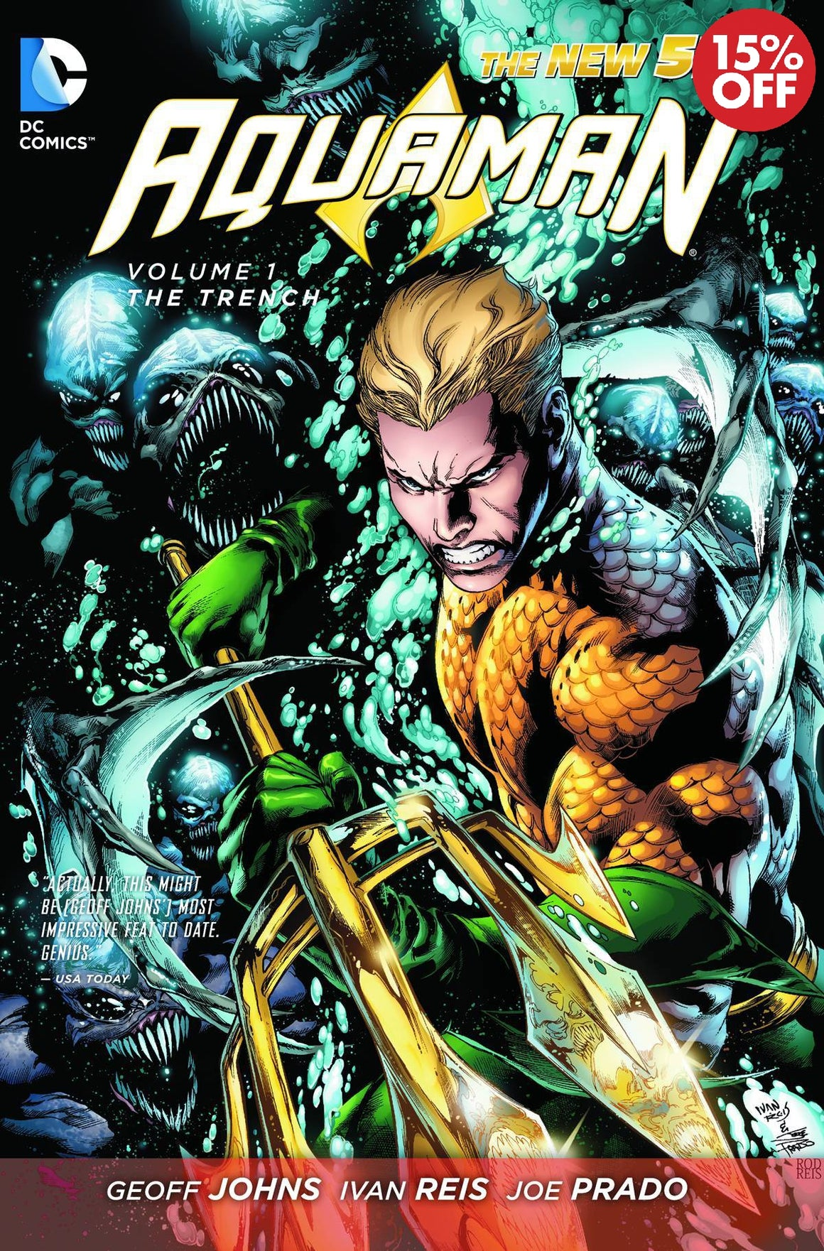 Aquaman Vol 01 The Trench