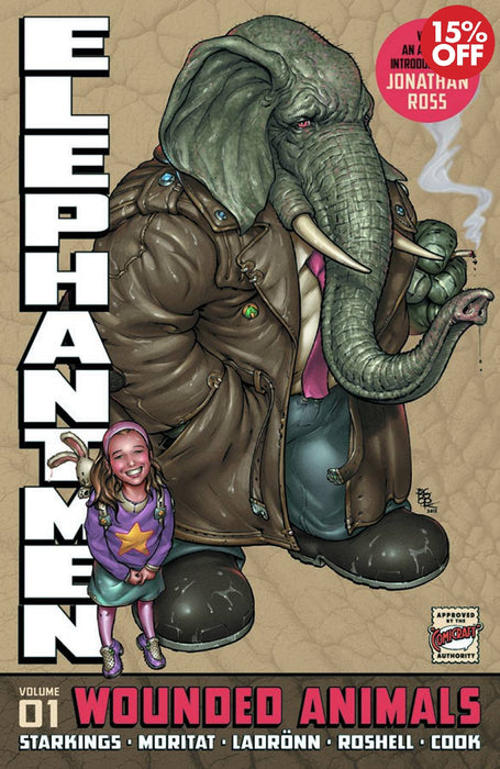 Elephantmen Vol 01 Wounded Animals