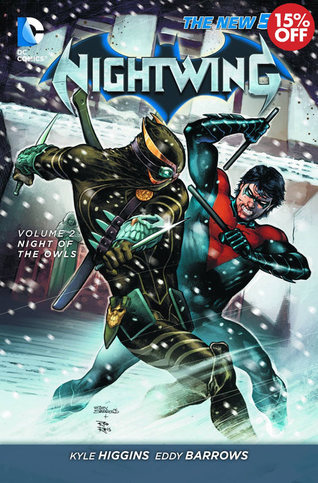 Nightwing Vol 02 Night Of The Owls