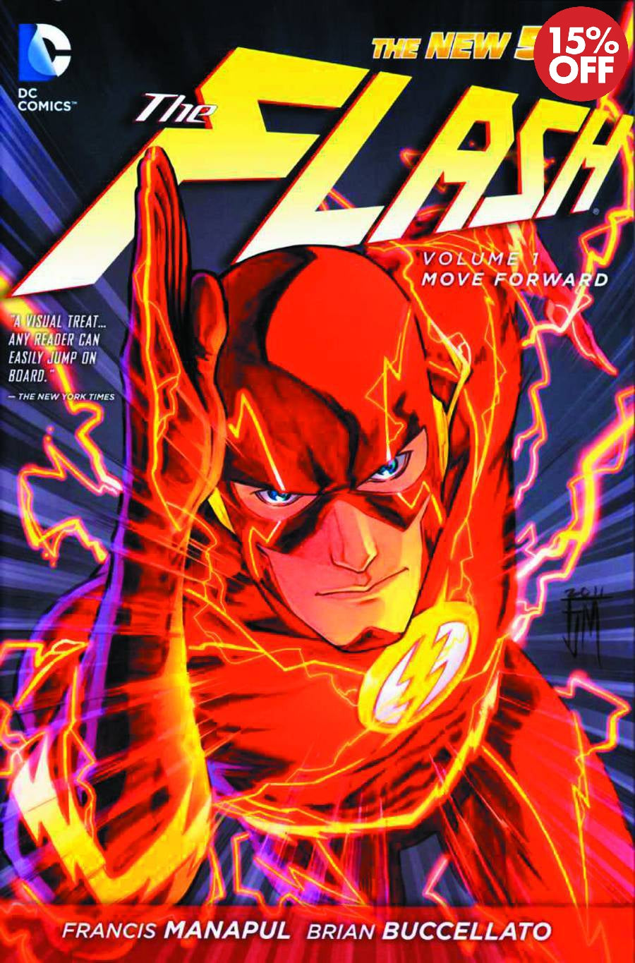 FLASH TP VOL 01 MOVE FORWARD (N52)