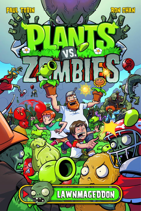 Plants Vs Zombies Lawnmageddon