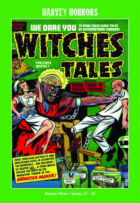 Harvey Horrors Witches Tales Softie Vol 03