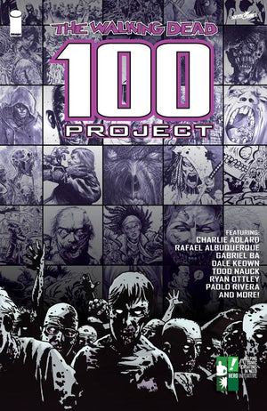 WALKING DEAD 100 PROJECT LTD ED HC
