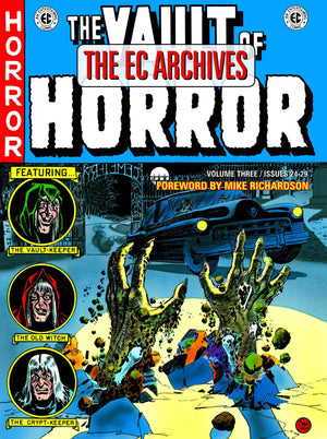 EC ARCHIVES VAULT OF HORROR HC VOL 03