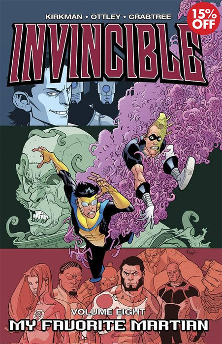 Invincible Vol 08: My Favorite Martian