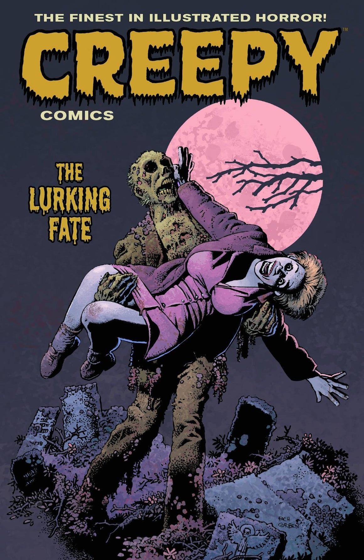 CREEPY COMICS TP VOL 03 LURKING FATE