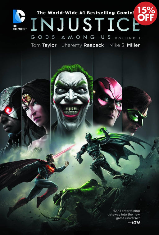 Injustice Gods Among Us Vol 01