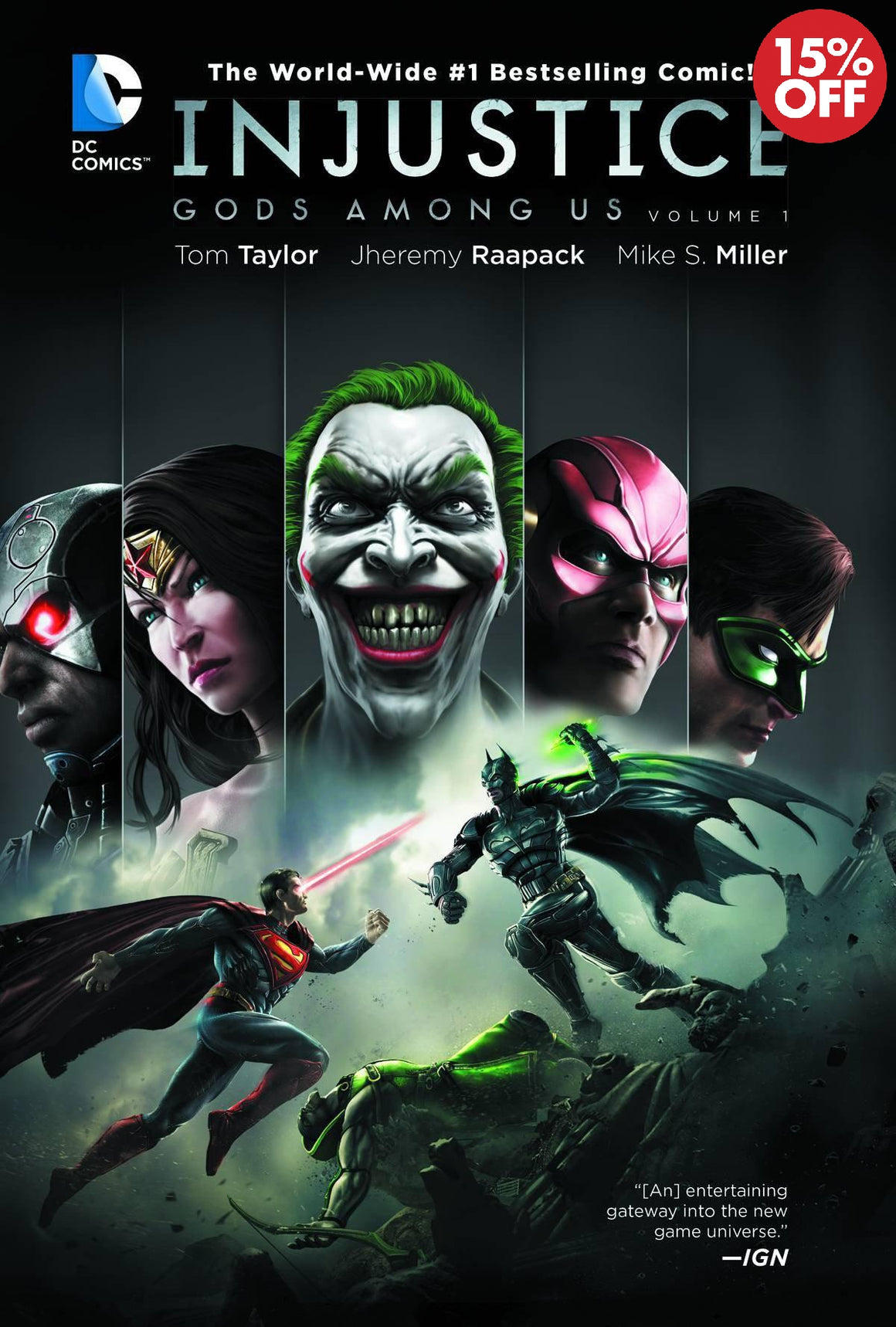 INJUSTICE GODS AMONG US VOL 1 HC