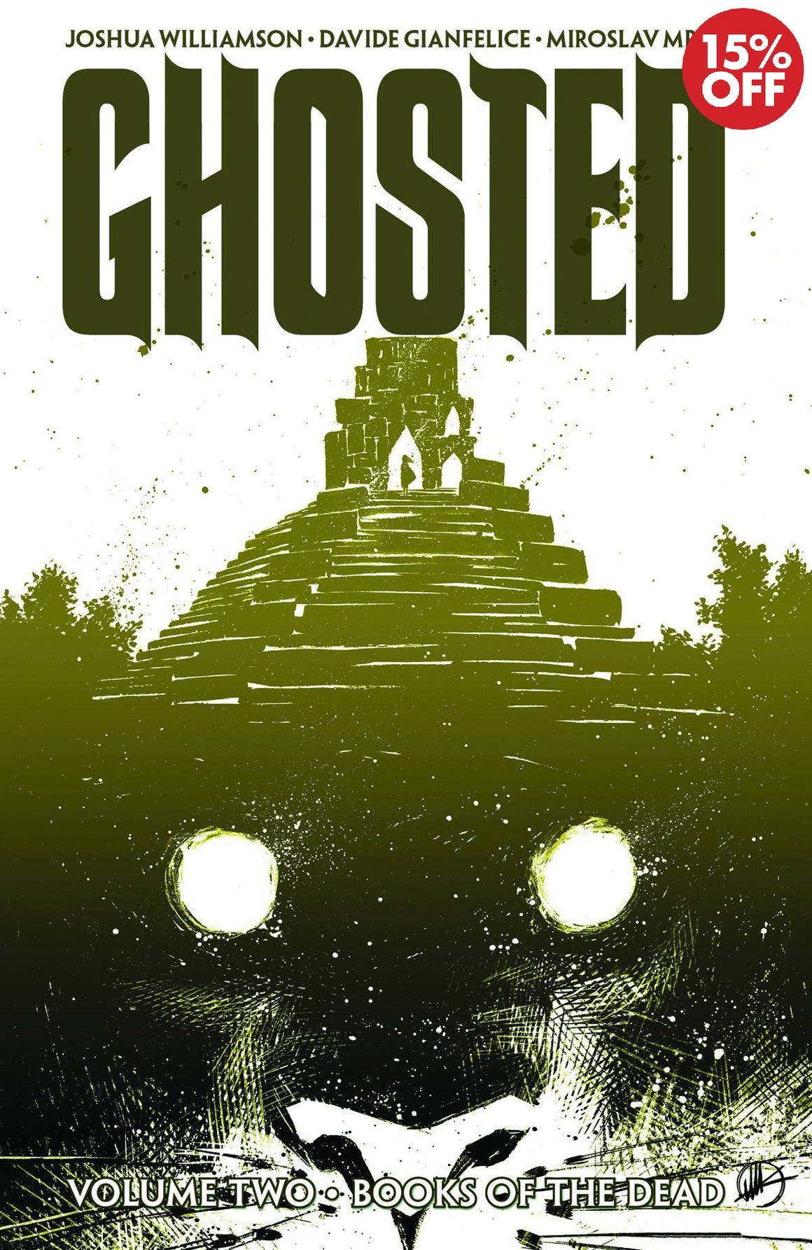 GHOSTED TP VOL 02 BOOKS OF THE DEAD
