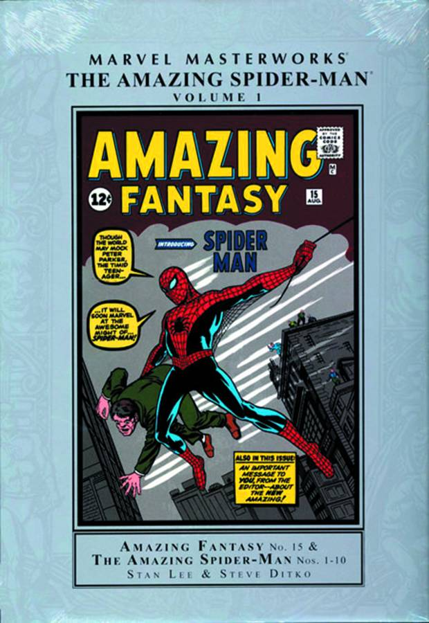 MMW AMAZING SPIDER-MAN HC VOL 01