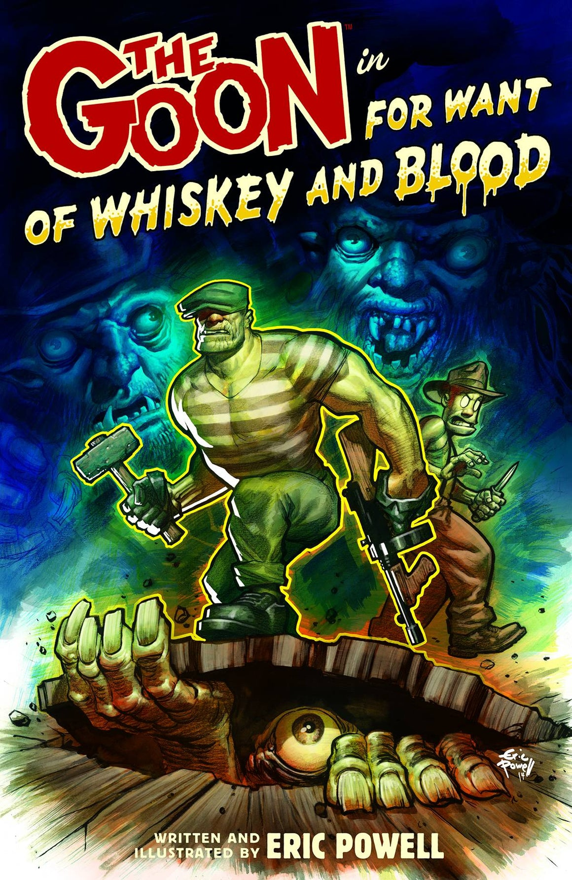 GOON TP VOL 13 FOR WANT OF WHISKEY AND BLOOD