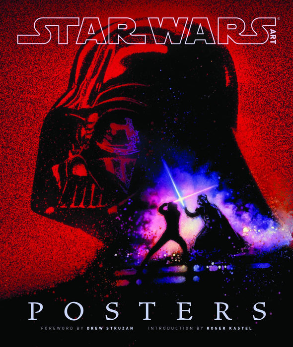 STAR WARS ART POSTERS HC