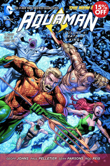 Aquaman Vol 04 Death OF A King