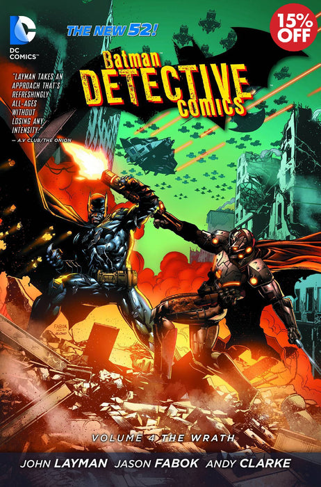 Batman Detective Comics Vol 04 The Wrath
