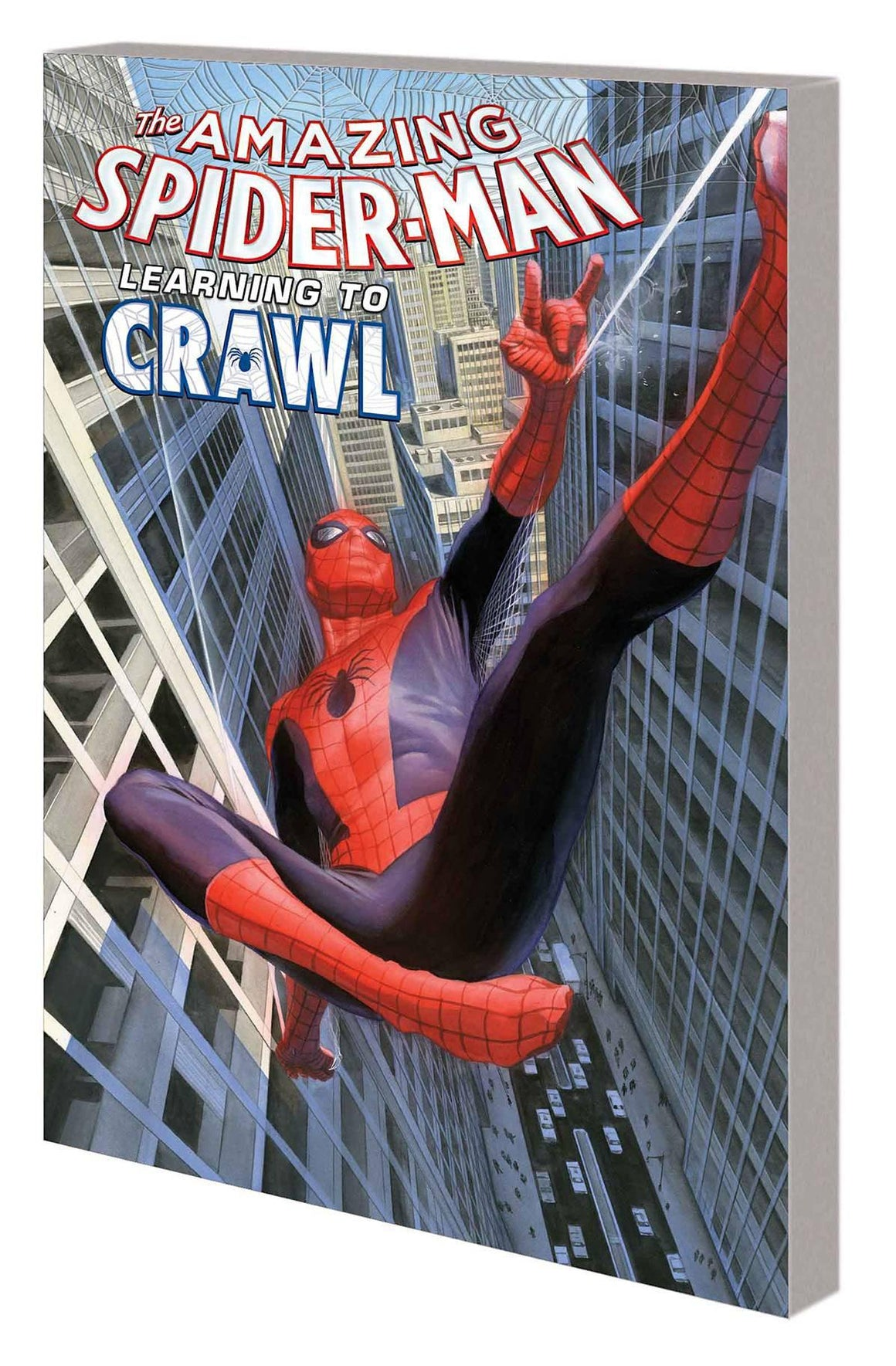 AMAZING SPIDER-MAN TP 01.1 LEARNING TO CRAWL