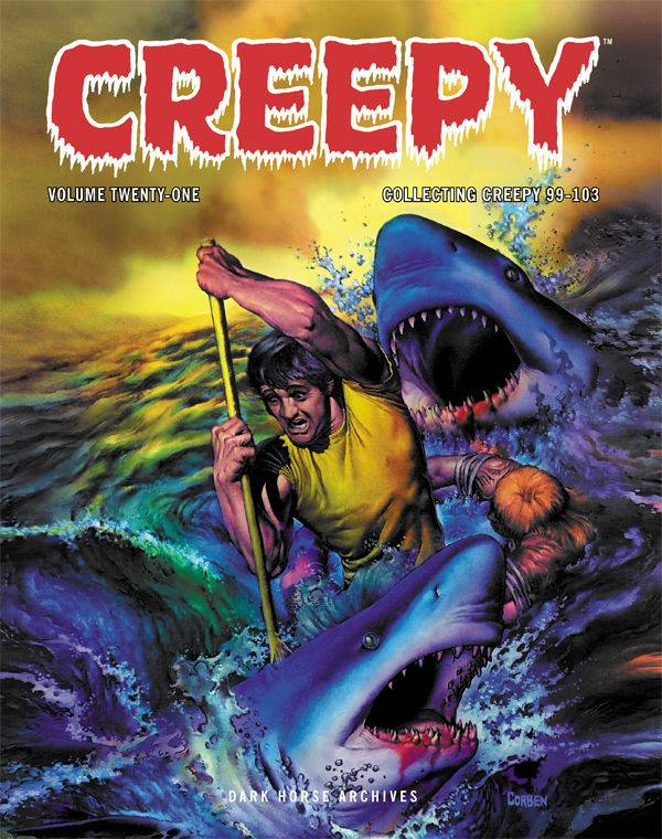 CREEPY ARCHIVES HC VOL 21