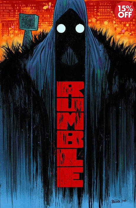 Rumble Vol 01 What Color of Darkness