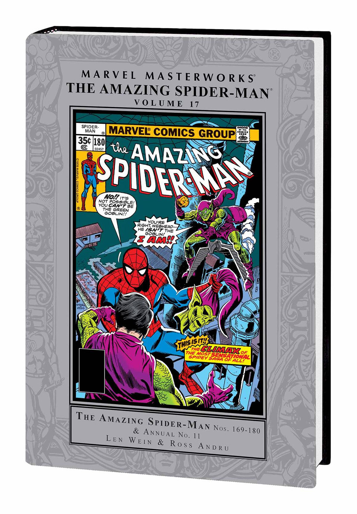 MMW AMAZING SPIDER-MAN HC VOL 17
