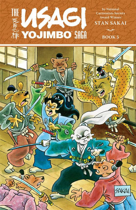 USAGI YOJIMBO SAGA TP VOL 05