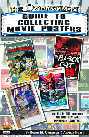 OVERSTREET GUIDE SC COLLECTING MOVIE POSTERS  9781603601832