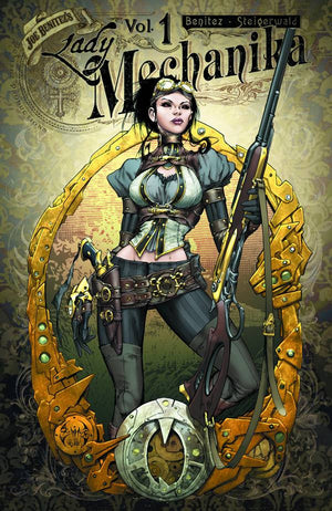 LADY MECHANIKA TP VOL 01 MYSTERY OF MECHANICAL CORPSE