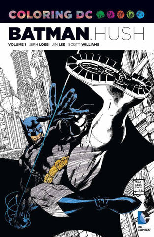 Batman Hush Adult Coloring Book