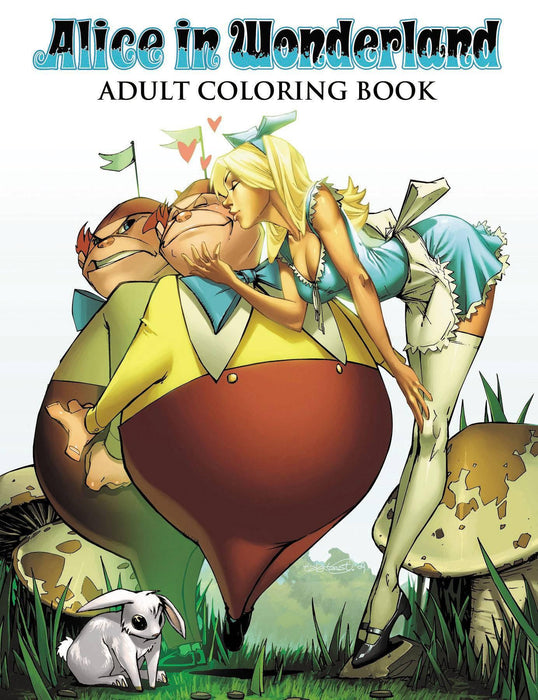 ALICE IN WONDERLAND ADULT COLORING BOOK