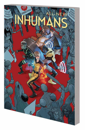 ALL-NEW INHUMANS VOL 1 GLOBAL OUTREACH