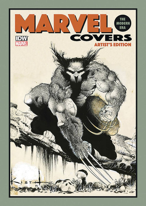MARVEL COVERS MODERN ERA ARTIST ED HC KIETH CVR