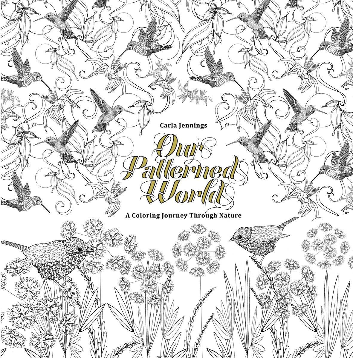 OUR PATTERNED WORLD A BEAUTIFUL COLORING BOOK