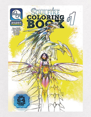 SOULFIRE COLORING BOOK SPECIAL