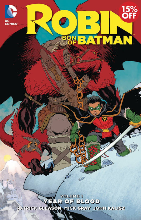 ROBIN SON OF BATMAN TP VOL 01 YEAR OF BLOOD