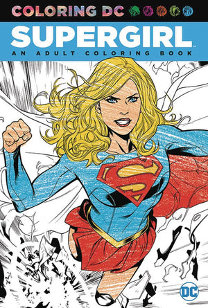 COLORING DC SUPERGIRL TP