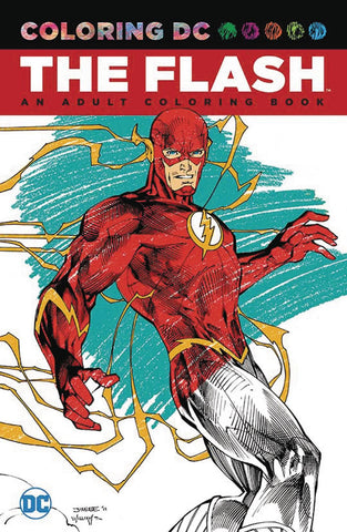 FLASH AN ADULT COLORING BOOK TP