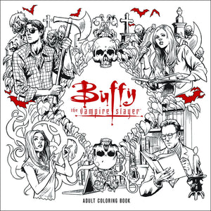 BTVS ADULT COLORING BOOK