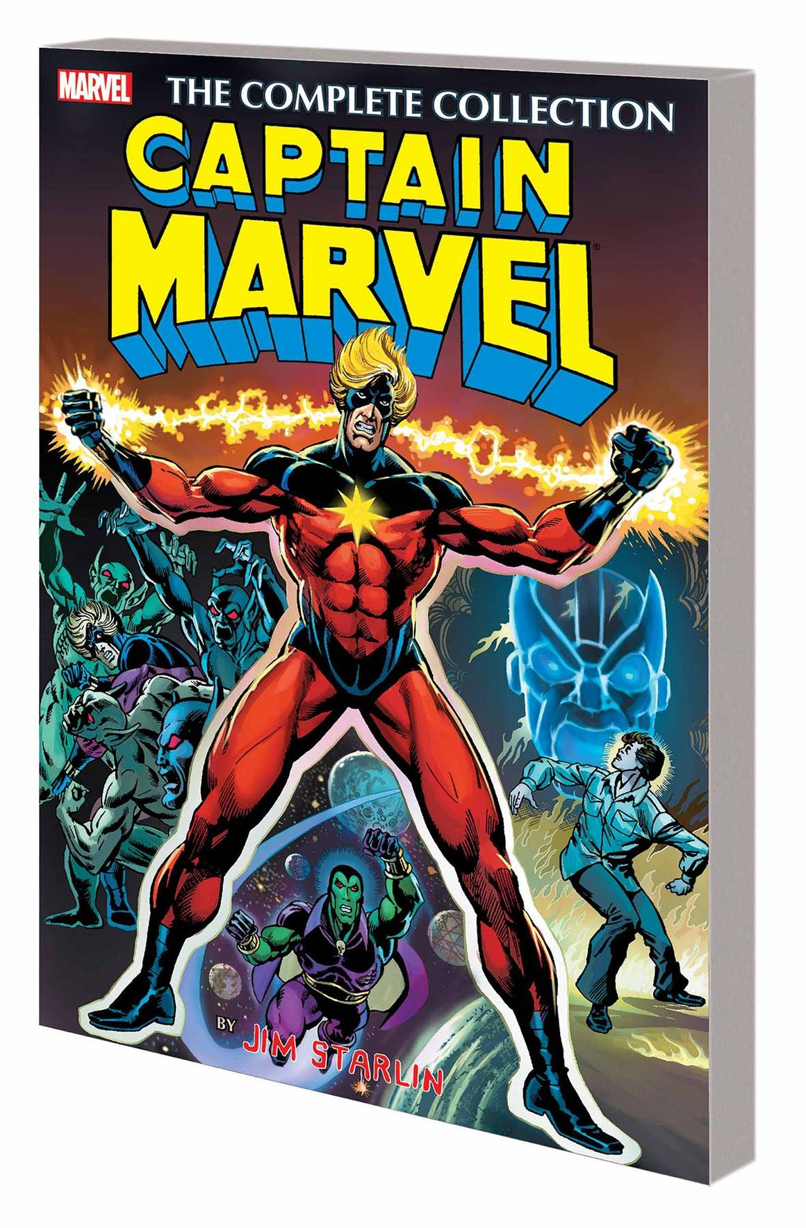 CAPTAIN MARVEL BY JIM STARLIN TP COMPLETE COLLECTION