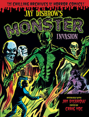 JAY DISBROW MONSTER INVASION HC