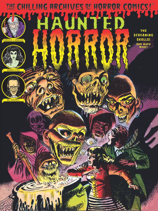 Haunted Horror Vol 05 Screaming Skulls
