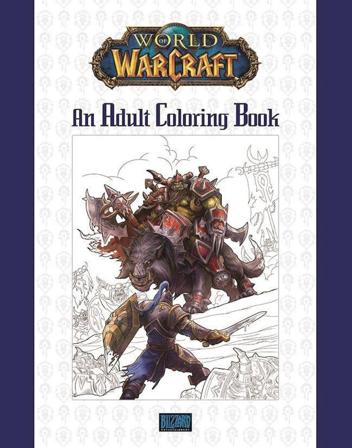 WORLD OF WARCRAFT ADULT COLORING BOOK SC