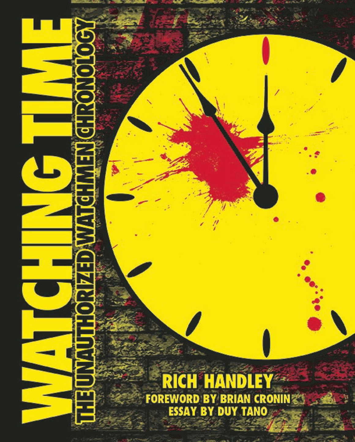 WATCHING TIME UNAUTHORIZED WATCHMEN CHRONOLOGY SC