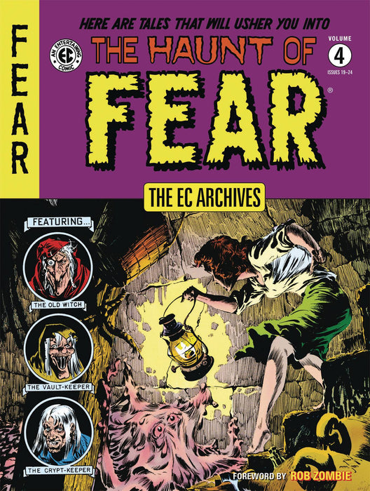 EC Archives Haunt of Fear Vol 04