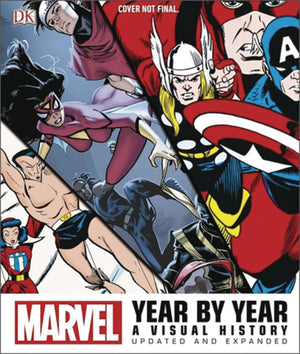 MARVEL YEAR BY YEAR VISUAL HIST HC EXPANDED UPDATED ED