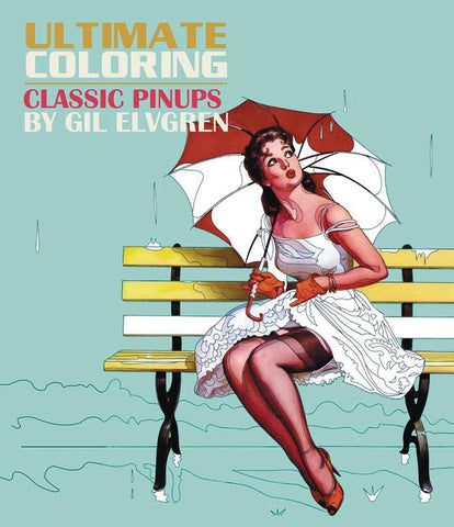 ULT COLORING CLASSIC PIN UPS BY GIL ELVGREN COLORING BOOK