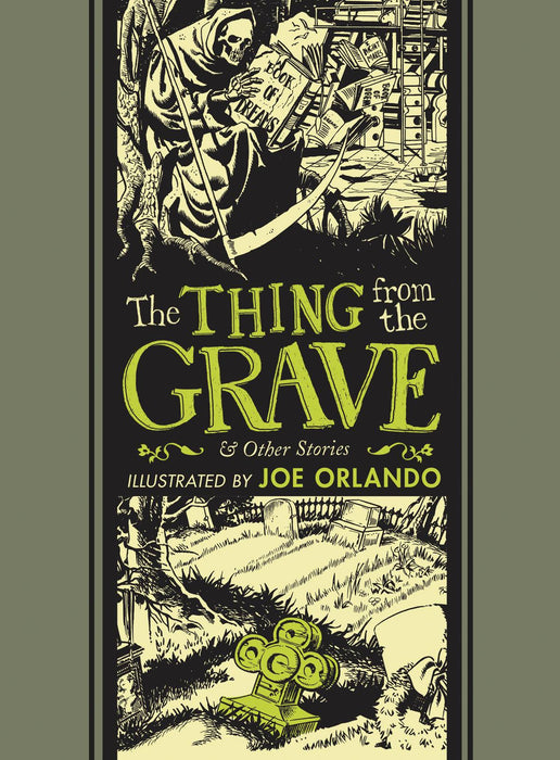 EC Joe Orlando & Al feldstein Thing From Grave
