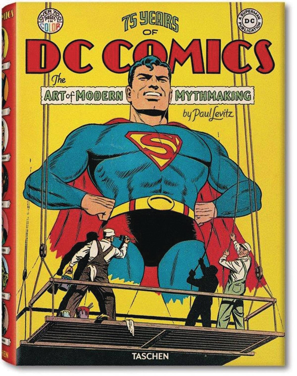 TASCHEN 75 YEARS OF DC COMICS HC