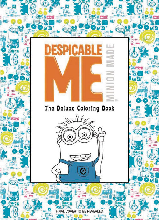 DESPICABLE ME 3 DLX COLORING BOOK