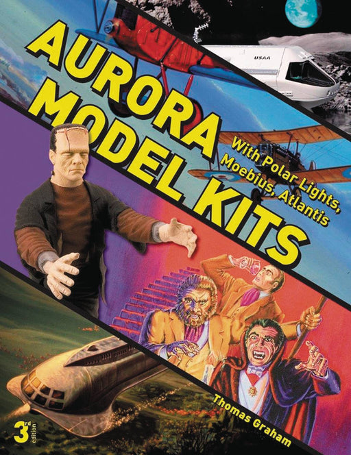 AURORA MODEL KITS 3RD ED W/ POLAR LIGHTS MOEBIUS & ATLANTIS